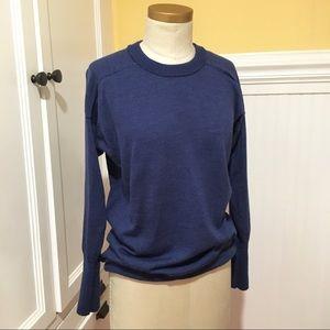 Jcrew blue sweater